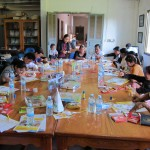 Eerste illustratieworkshops in Mondulkiri gestart
